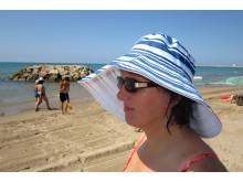 Frau im Urlaub 2