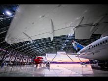 Norwegians hangar på Gardermoen.