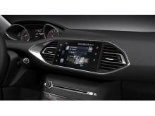 Nya Peugeot 308 med sin innovativa interiör