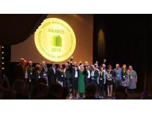 Vinnarna i Sweden Green Building Awards 2019