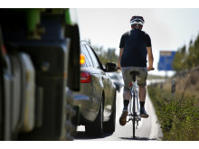 Auto vs. Fahrrad 1 Sicherheitsabstand