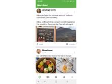 Idka App Newsfeed