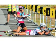 NM rulleskiskyting 2015 sprint Tiril Kampenhaug Eckhoff