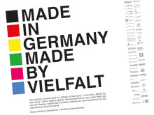 "Advertising initiative by family-owned companies ""Made in Germany"""