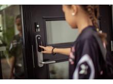 Få beskjed når barna kommer hjem fra skolen med Verisure digital lås