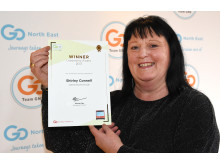 Leadership Award winner, Shirley Connell, divisional manager - North region