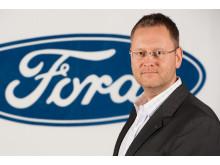 Per Gunnar Berg, ny adm. dir i Ford Motor Norge, overtar ansvaret for et bilmerke i medvind