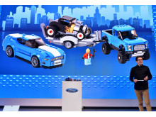 Ford ved NAIAS 2016 - LEGO præsentation