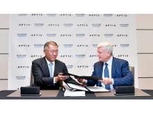HyundaI Motor Group og Aptiv danner Joint Venture