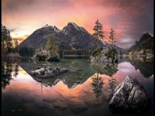4 PR Lake Hintersee Sunrise Vignette
