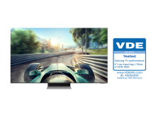 [Photo] Neo QLEDs Receive Industry First Gaming TV Performance Certification from VDE 1