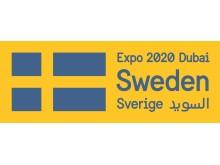 Logotyp för det svenska deltagandet i Expo 2020 Dubai