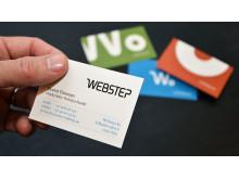 Webstep visitkort