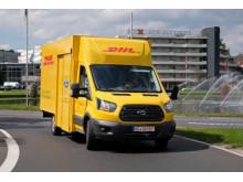 Ford ve spolupráci s Deutsche Post DHL Group a StreetScooter vyrábí dodávky s elektrickým pohonem