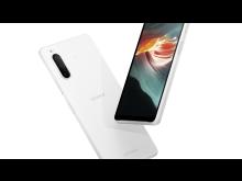 Xperia 10 II_Design_White