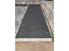 Fibrelite covers are chemically inert and have an anti-slip tread pattern