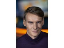Lilla Aktuellt: Kristoffer Fransson, nominerad i kategorin Årets Röst 2018