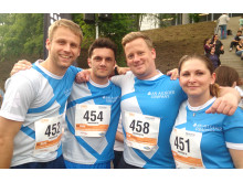 B2RUN: Allgeier Company Team in Hamburg