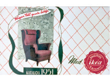 1951 kom den första IKEA-katalogen