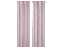 GUNRID luftrensende gardiner, 145x250 cm lyserød 229.-/2 stk.