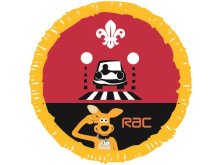 The new Scouts Road Safety badge