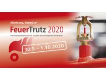 Verschiebung: Neuer Termin der FeuerTrutz 2020 am 30. September und 1. Oktober