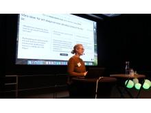 Den workshop som Melinda From ledde gav många idéer från deltagarna.
