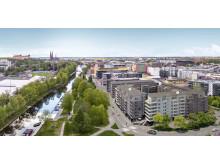 Åsikten Södra, Uppsala, Riksbyggen
