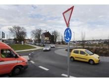 Keine Angst vorm Kreisverkehr