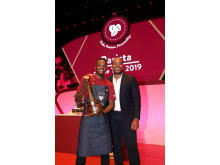 Barista of the Year 2019 Brian Chibwe and Selasi Gbormittah