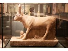 Ägyptisches Museum Leipzig - Statue der Göttin Hathor mit Königssphinx