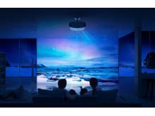 Projektor kina domowego