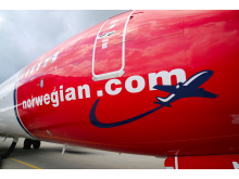 Fuselaje de Boeing 737 de Norwegian