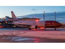 Norwegian 737-800 på Stockholm Arlanda