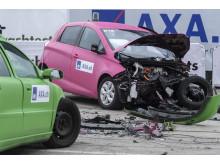 1° crash test: potente e veloce – la collisione frontale (2/2)