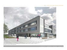 Elgin High School, artist's impression