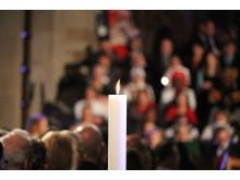 Från den ekumeniska gudstjänsten i Lunds domkyrka 31 oktober.