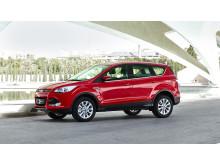 Ford Kuga - nå med sterkere dieselmotor kombinert med lavere CO2 og enda mer avansert teknologi.