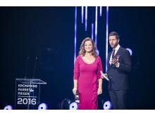 For andet år i træk var Kåre Quist og Stéphanie Surrugue værtspar ved Kronprinsparrets Priser