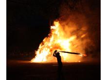 Påskebål i Harzen – flammesvinger i Bad Grund
