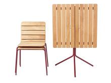 11:an stol och bord, design Axel Bjurström