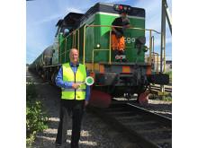 Utan tåget lyfter inte flyget Green Cargo