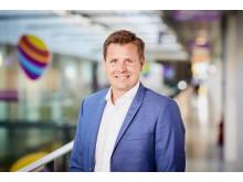 Morten Bentzen, administrerende direktør i Telia Danmark