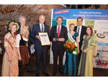 """Leipziger Tourismuspreis 2013"": Kuratorium Richard-Wagner-Jahr 2013"