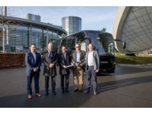 Scania Interlink HD 12,40 m an Reisebusunternehmen Bonovo VIP