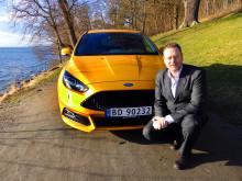 Per Gunnar Berg, nye adm. dir. for Ford Motor Norge, overtar ansvaret for et bilmerke i medvind