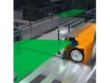 TiM360 förhindrar kollisioner med förarlösa fordon