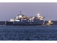 Scandlines' nye færge til Gedser-Rostock forlader værftet