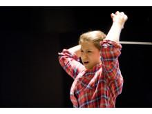Dalia Stasevska dirigerar Den listiga lilla räven på NorrlandsOperan 2016