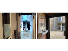Alford House Before and After - Entrance 2